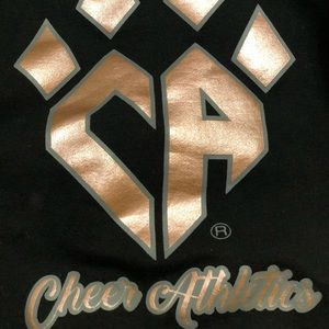 Other - Cheer Athletics Rebel Athletic Rose Gold Crop